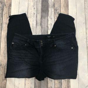 Torrid Jegging Crop Jeans 24S